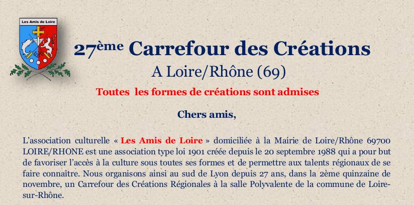 Carrefour des créations 2015