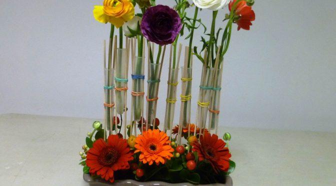 Reprise des cours d'art floral